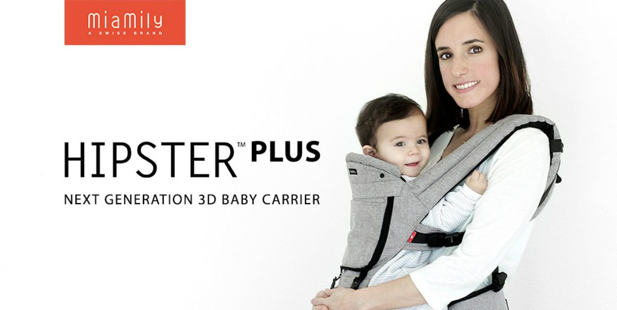 Kickstarter Alert : MiaMily Hipster Plus Baby Carrier and Bag in One